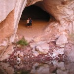 CAVE IN FRIENDSHIP COVE-LAKE POWELL