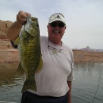 Nels 5.0 Smallmouth ALMOST a Lake Powell record 5-1-09