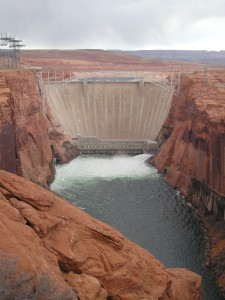 GLEN CANYON DAMAND BRIDGE