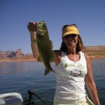 Gail Nice small mouth Lake Powell