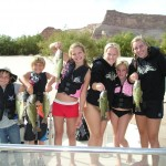 Fun times fishing on Lake Powell