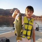 ALEXANDER with nice SM at Lake Powell